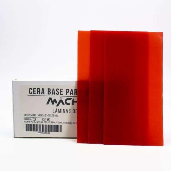 Cera Base para Modelado Machtig roja