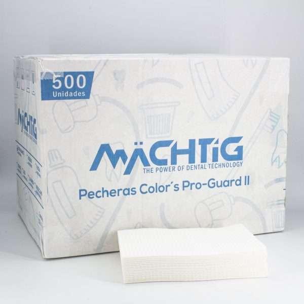 Pecheras Color´s Pro-Guard II Machtig blanco