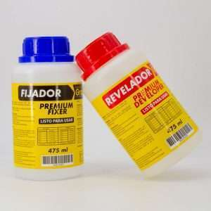 Liquidos Revelador y Fijador Premium grip