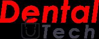 logo dentaltech rojo y negro