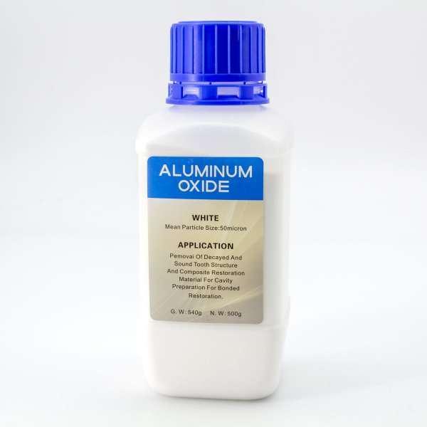 Oxido de aluminio blanco