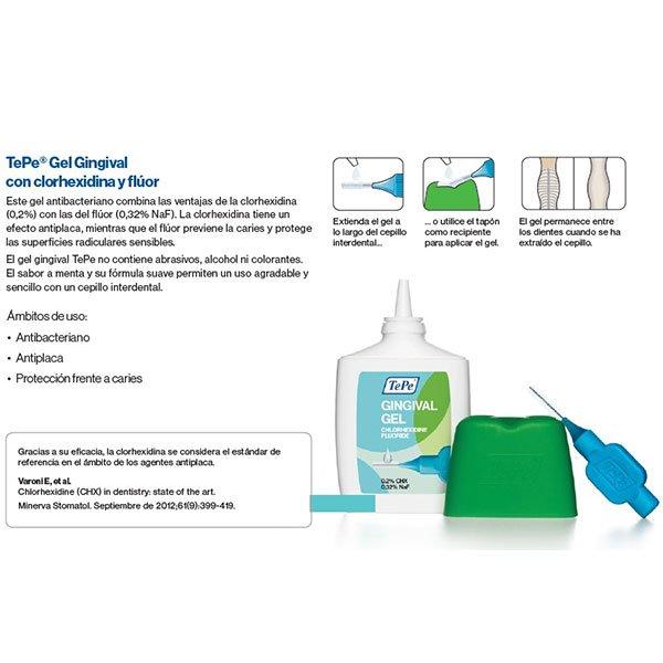 Gel gingival antibacterial 20 ml Tepe