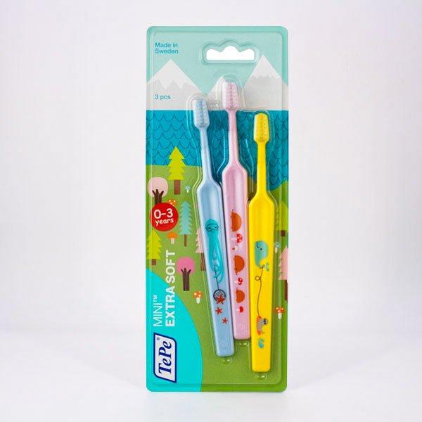 cepillo dental mini tepe