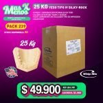 [PACK239] 25 Kg Yeso Tipo IV Silky-Rock WhipMix