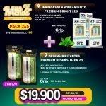 [PACK245] 9 Jeringas Blanqueamiento Premium Bright 22% + 2 Desensibilizantes Premium Desensitizer 2%