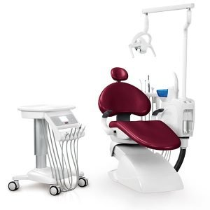 Sillón Dental BZ636 LUX con taburete Fengdan con accesorios