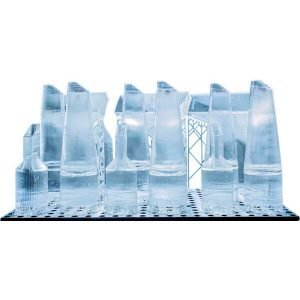 Resina Crystal Clear Prints 3D Printing Resin