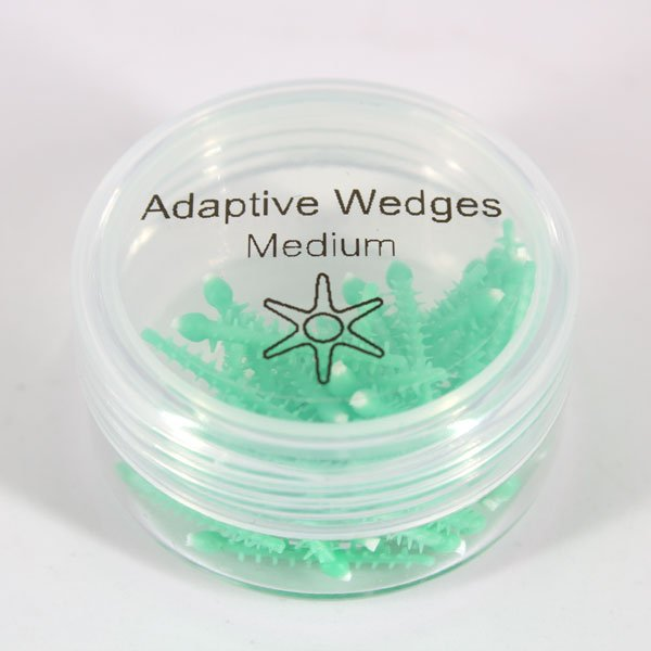 Cuñas Siliconadas verdes Flexibles Adaptive Wedges Ehro