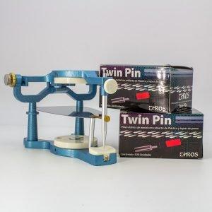 Twin pin y articulador