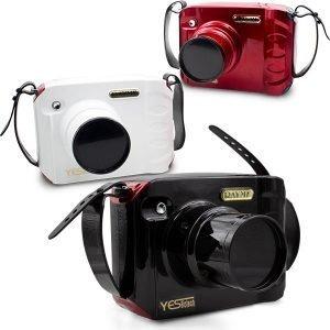 Tres equipos de rayos X portátil rojo negro y blanco