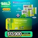 [PACK259] 3 Alginatos Alginor Ortho Lascod + 1 Cepillo Good Compact Tepe