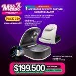 [PACK260] 1 Aspirador de polvo portátil Vacuum Cleaner