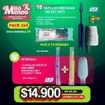 [PACK265] 10 Cepillos dentales Select Soft + Regalo_ 2 Cepillos Mini Extra Soft Tepe