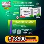 [PACK269] 3 Alginatos Kromopan Lascod + 1 Espátula Morada Plasdent + 1 Set Medidores para Alginato