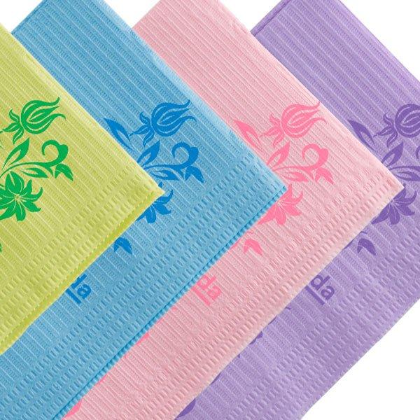 Pecheras Servilletas Towel Up Floral 4 colres