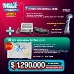 [PACK277] 1 Motor Implantes X-Cube Saeshin + 10 Set irrigación estéril HY-01 Machtig