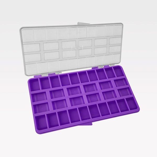 Caja Organizadora Multiuso Orthometric morada