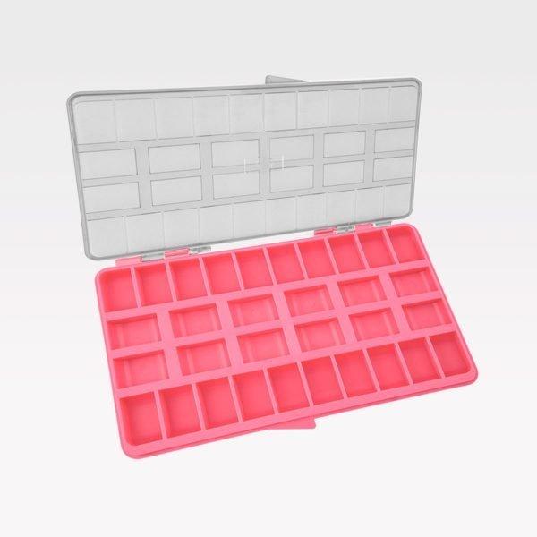 Caja Organizadora Multiuso Orthometric rosada