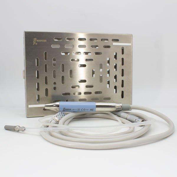 Caja para Esterilización Piezo Surgic Touch Woodpecker con pieza de mano