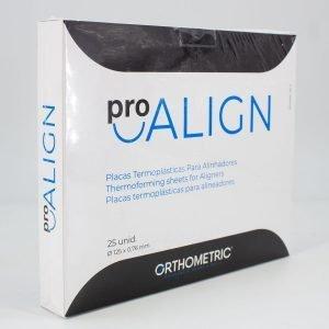 Placas o Láminas Termoplásticas para Alineadores Pro-Align caja