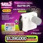 1 Equipo rayos x portátil RAY98(P) Youjoy + 1 Set Posicionador Radiografía periapical