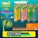 10 Cepillos Dentales Good Regular Tepe + Regalo