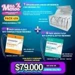1 Organizador Arcos Ortodoncia P02 + 6 Pack Arcos Flexy NiTi Super Elástico + 8 Pack Arcos Flexy NiTi Termoactivado Orthometric